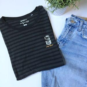 Uniqlo - Andy Warhol edition striped t-shirt